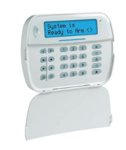 alarm panel- wall mounted